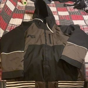 Analog and trans world snowboard jacket XLq